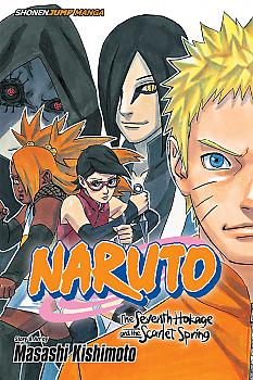 Naruto: The Seventh Hokage and the Scarlet Spring Manga