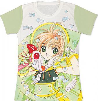 Cardcaptor Sakura T-Shirt - Sakura Green (Junior XL)