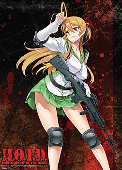 High School of the Dead Wall Scroll - Rei