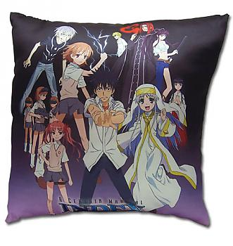 A Certain Magical Index Pillow - Group Square
