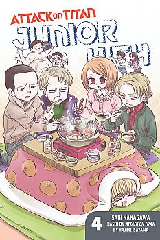 Attack on Titan: Junior High Manga Vol.   4