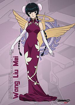 Gundam 00 Wall Scroll - Wang Liu Mei