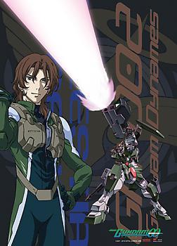 Gundam 00 Wall Scroll - Lockon and Dynames