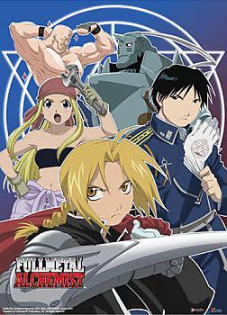 Fullmetal Alchemist Wall Scroll - Group