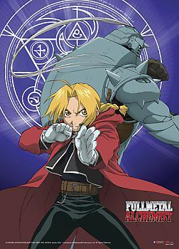 Fullmetal Alchemist Wall Scroll - Ed and Al