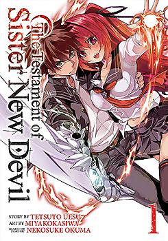 Testament of Sister New Devil Manga Vol.   1