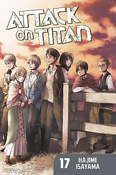 Attack on Titan Manga Vol.  17