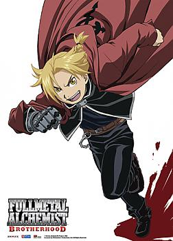 Fullmetal Alchemist Brotherhood Fabric Poster - Ed