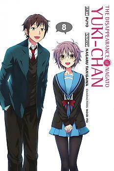Disappearance of Nagato Yuki Haruhi-Chan Manga Vol.  8