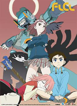 FLCL Wall Scroll - Mamimi and Canti