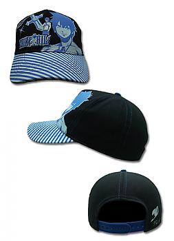 Fairy Tail Cap - Gray Blue Lines