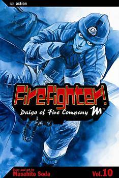 Firefighter! Daigo Manga Vol.  10
