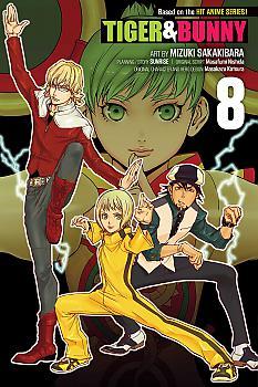 Tiger & Bunny Manga Vol.   8