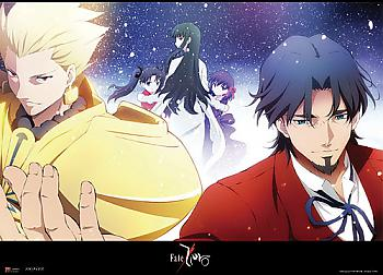 Fate/Zero Fabric Poster - Archer & Tokiomi [LONG]