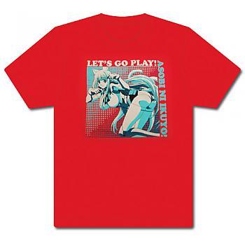 Cat Planet Cuties T-Shirt - Eris Lets Go Play! (XXL)