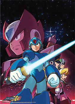 Mega Man X Wall Scroll - Mega Man X Saber