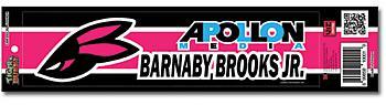 Tiger & Bunny Sticker - Barnaby Brooks Jr. Bunny Logo Bumper Decal