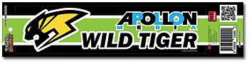 Tiger & Bunny Sticker - Wild Tiger Logo Bumper Decal