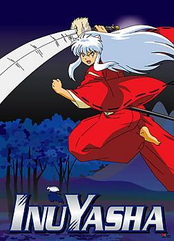 Inu Yasha Wall Scroll - Inu Yasha Forest Night
