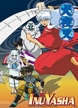 Inu Yasha Wall Scroll - Group