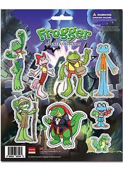 Frogger Magnet - Cutout Characters