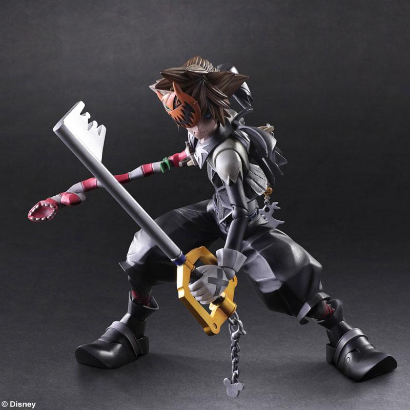 Kingdom Hearts II Play Arts Kai Action Figure - Sora Halloween Town ...
