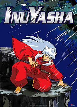 Inu Yasha Fabric Poster - Inu Yasha Crouching Night