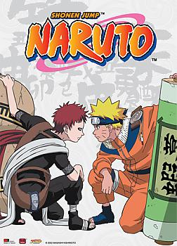 Naruto Wall Scroll - Naruto vs. Gaara