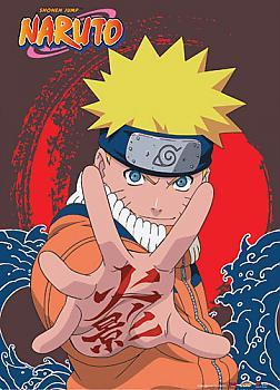 Naruto Wall Scroll - Naruto Hand Symbol