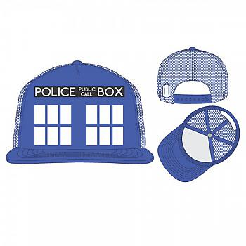 Doctor Who Cap - Tardis Trucker