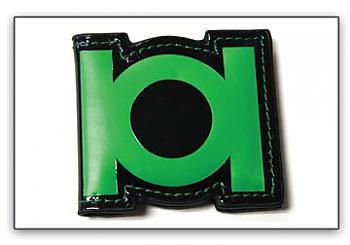 Green Lantern Money Clip - Emblem Magnetic
