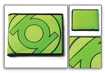 Green Lantern Wallet - Emblem All Green