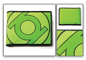 Green Lantern Wallet - Emblem All Green