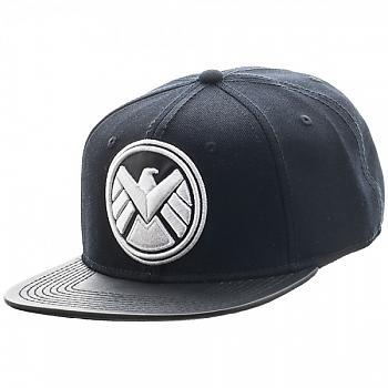 Agents of S.H.I.E.L.D. Cap - Logo PU Bill Snapback (Marvel)