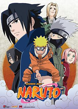 Naruto Wall Scroll - Leaf Village Group