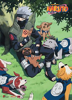 Naruto Wall Scroll - Kakashi Reading