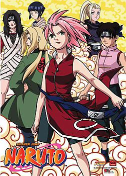 Naruto Wall Scroll - Girl Power