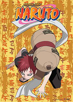 Naruto Wall Scroll - Gaara Crouch Down