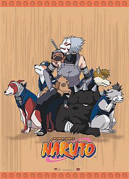 Naruto Wall Scroll - Anbu Kakashi with Dogs