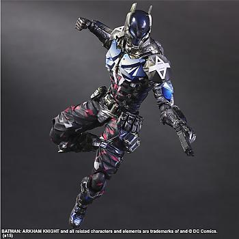 Batman Arkham Knight Play Arts Kai Action Figure - Arkham Knight BLUE Ver. (NYCC 2015)