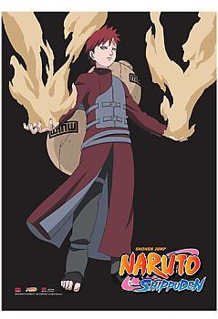 Naruto Shippuden Wall Scroll - Gaara Sand Control