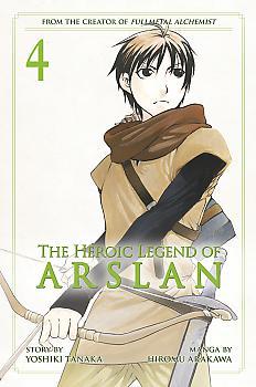 Heroic Legend of Arslan Manga Vol.   4