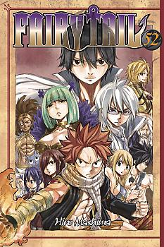 Fairy Tail Manga Vol.  52