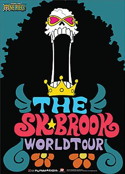 One Piece Wall Scroll - Soul King Brook World Tour