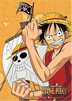 One Piece Wall Scroll - Luffy Flex