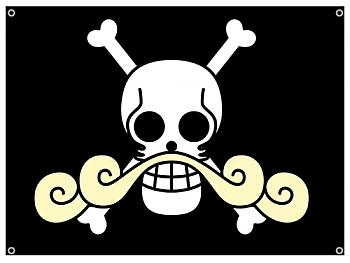 One Piece Flag - Roger Pirates Icon