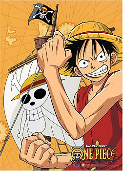 One Piece Fabric Poster - Luffy Flex