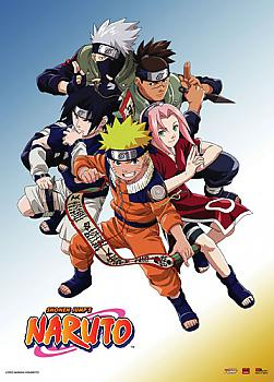 Naruto Wall Scroll - Team 7 and Instructors