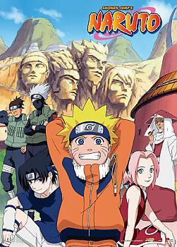 Naruto Wall Scroll - Team 7 and Hokages