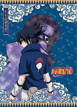 Naruto Wall Scroll - Sasuke and Itachi Dark Past